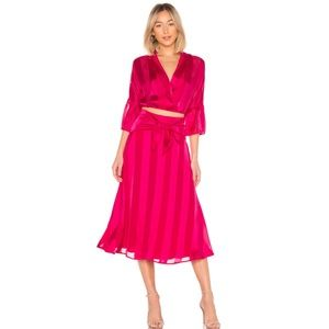 House of Harlow 1960 Vira Top in Fuschia